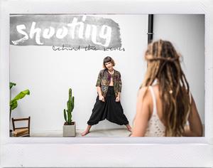 SHOOTING behind the scenes